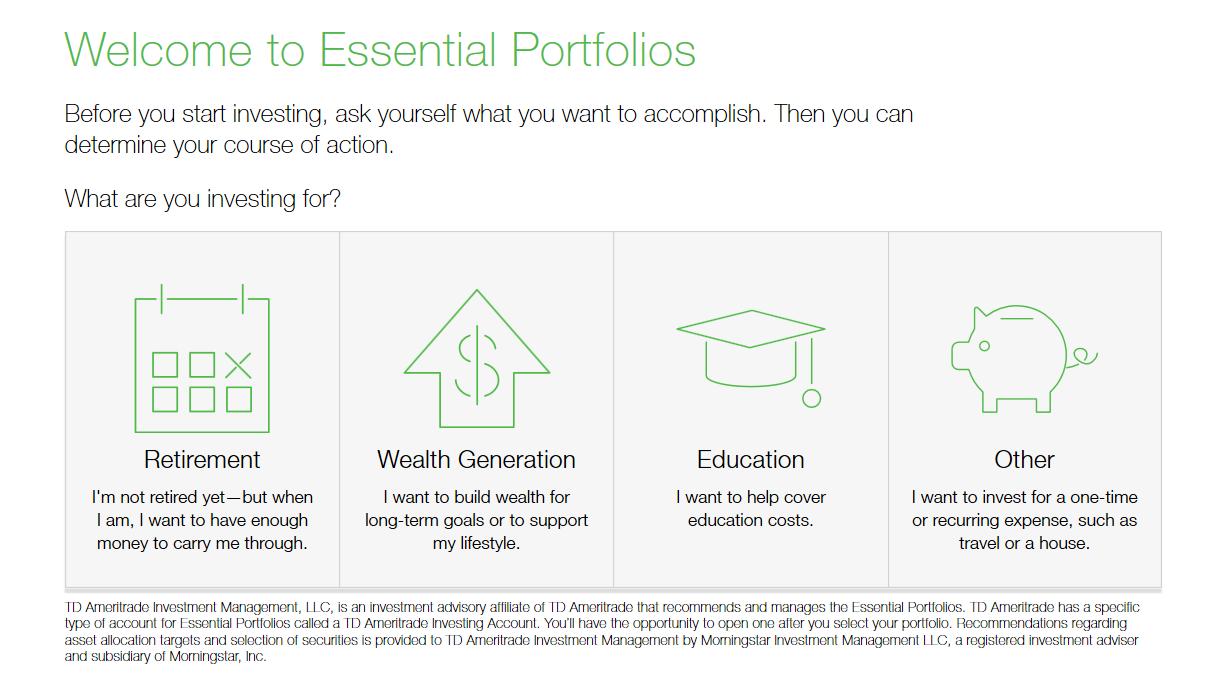 Essential Portfolios Overview