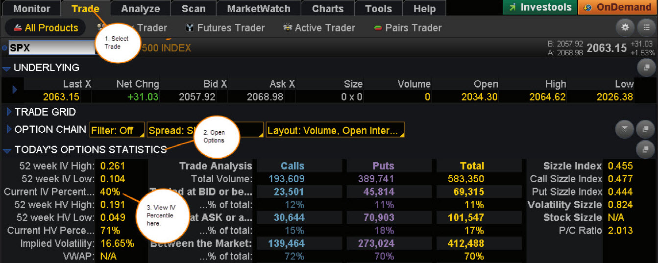 guaging volatility