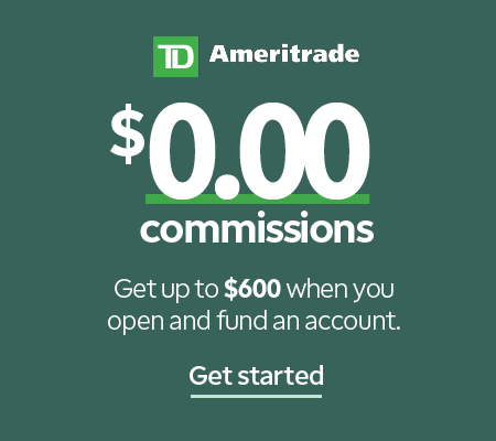 TDAmeritrade Zero Commissions