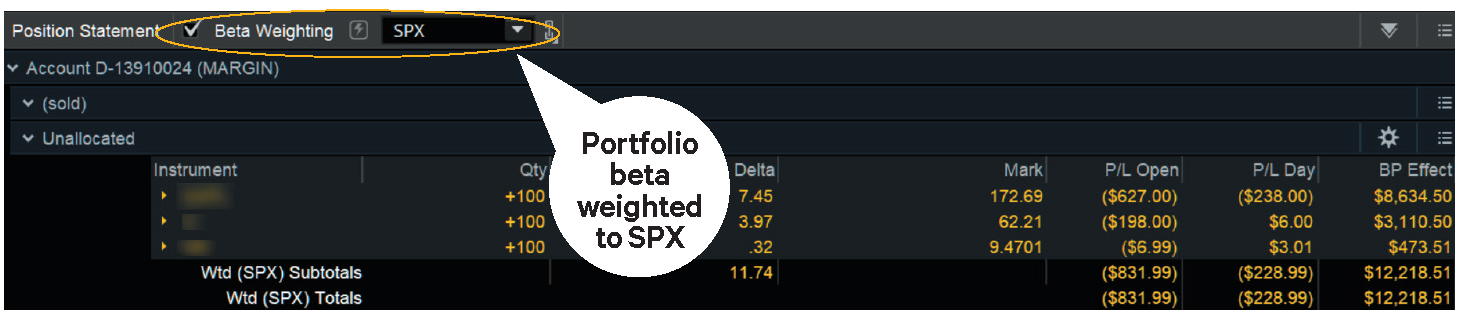 How to beta weight your portfolio