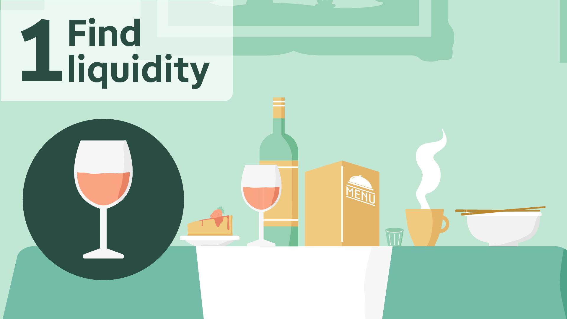 Find liquidity