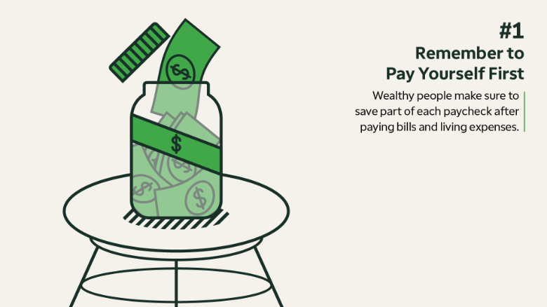 Wealthy habits: Pay yourself first