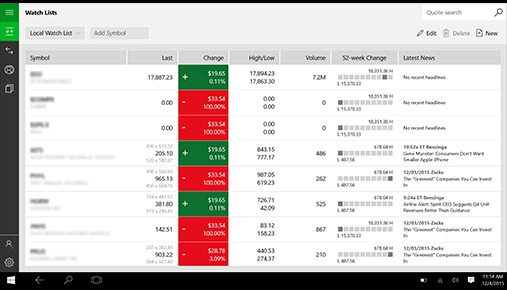 Windows 10 Users: A Shiny New Trading App Just For You - Ticker Tape