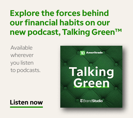TD Ameritrade - Talking Green Podcast