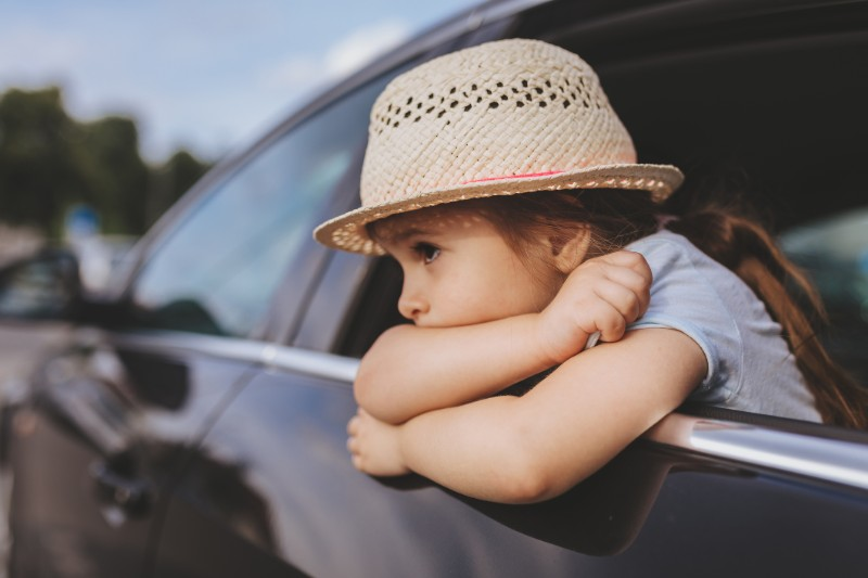 Young child riding in a car: Are we there yet? Cryptocurrencies and diversification